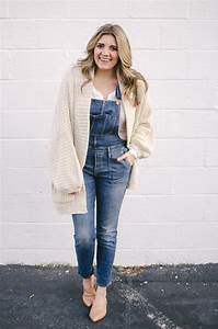 Winter Overalls Outfit | By Lauren M
