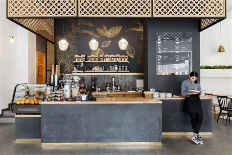 Cafe shop furniture design modern style coffee store ...