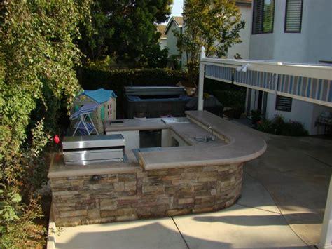 outdoor kitchen countertops modern home house design ideas