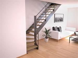 Escalier Bois Pas Cher : les 25 meilleures id es de la cat gorie escalier pas cher ~ Premium-room.com Idées de Décoration