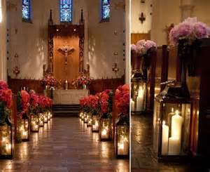hochzeit idee 05 kerzen hochzeitsdeko dekoideen kirchlich altar heiraten in der kirche blume hochzeit deko
