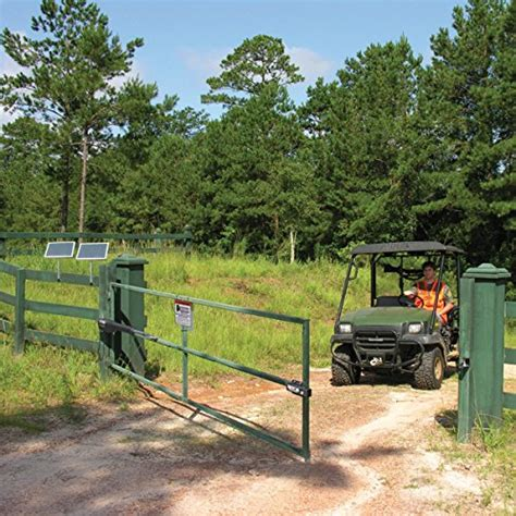 mighty mule mm360 automatic gate opener for medium duty single swing gates for 1 ebay