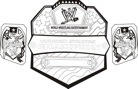 Randy Orton Coloring Page Free Printable Pages 7