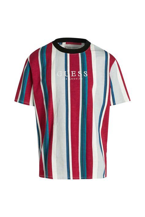 shirt gestreift guess guenstig  kaufen