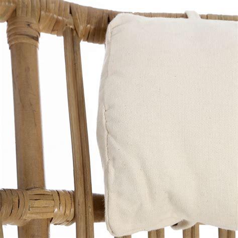 cuscino poltrona poltrona con cuscino naturale mobili etnici provenzali