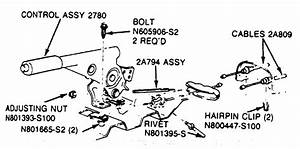 Service Manual  1992 Ford Tempo How To Adjust Parking