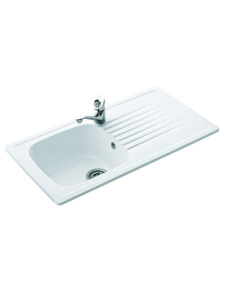 villeroy and boch ceramic kitchen sinks villeroy boch 6771 medici 1 0 bowl sink drainer 9578