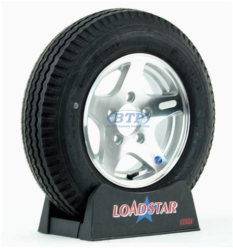 Aluminum Boat Trailer Wheels And Tires by Boat Trailer Tire 5 30 X 12 On Aluminum 5 Wheel 5 Lug