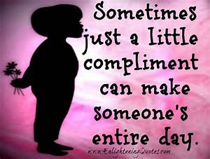 Compliment Day Quotes. QuotesGram