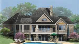 craftsman house plans with walkout basement hillside walkout archives house plans home and the o 39 jays
