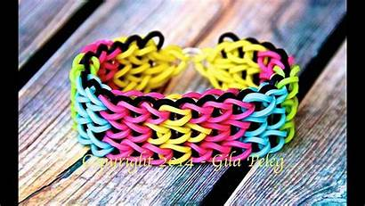 Loom Rainbow Bracelet Single Triple Step
