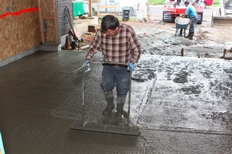 how thick should a concrete garage floor be homecrunch how to build a better garage floor that