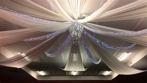 wedding decorations ceiling drapes wedding services
