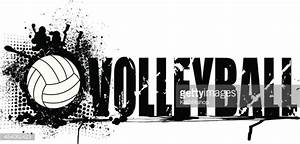 Volleyball Grunge Graphic Background Vector Art   Getty Images