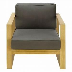 Fauteuil De Jardin Maison Du Monde : fauteuil de jardin en teck cagliari maisons du monde ~ Premium-room.com Idées de Décoration