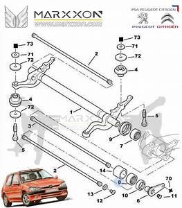 Peugeot Citroen Rear Axle