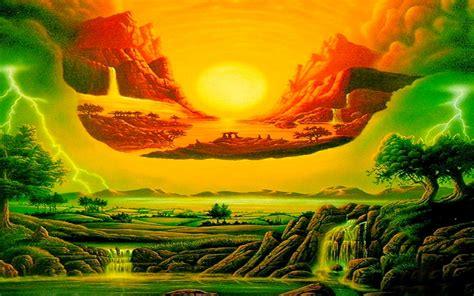 Colorful Galaxy Wallpaper Hd Bunte Fantasielandschaft Hintergrundbilder Bunte Fantasielandschaft Frei Fotos