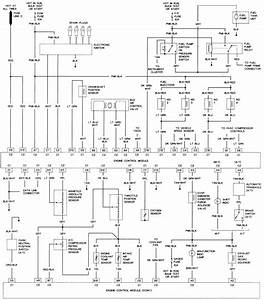57 - 2 0l  Vin H  Engine Control Wiring Diagram