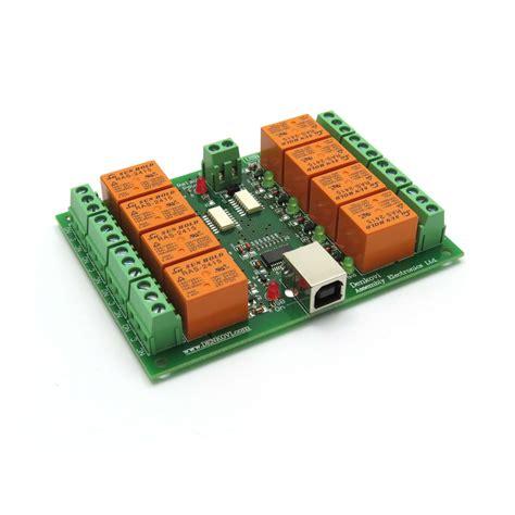 Usb Channel Relay Board Automation Robotics Ebay