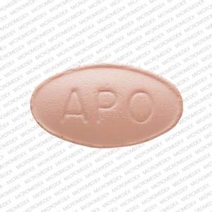 apo ola  pill images pink elliptical oval