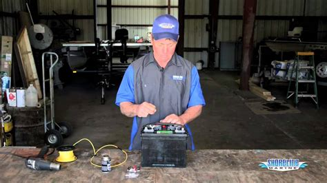 Boat Mechanic License by How To Properly Connect Wires To A Marine Battery