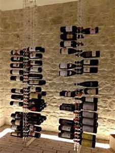 Porte Bouteille Vin Original : porte bouteilles transparente de la marque sobrio pour le rangement original des bouteilles de ~ Dode.kayakingforconservation.com Idées de Décoration