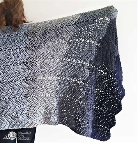 ripple crochet pattern crochet ripple blanket free crochet pattern by rescued paw designs