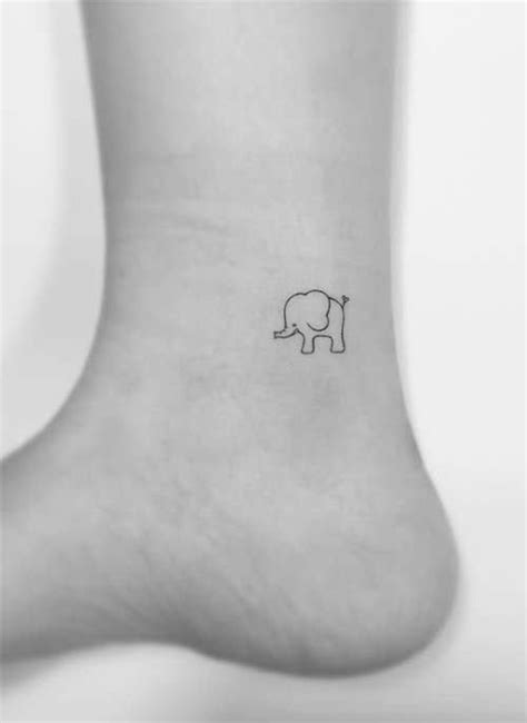 40 Cute Ankle Tattoos Ideas for Women To Be Inspire