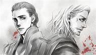 Loki Thor Fan Art Drawing