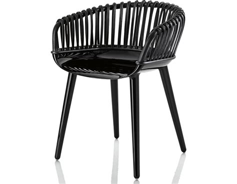 Magis Cyborg Club Armchair With Wicker Back