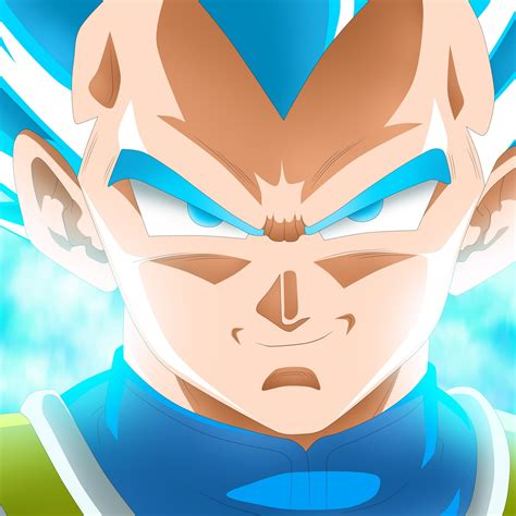 wallpaper super saiyan blue vegeta dragon ball super
