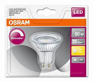 Osram Led Dimmbar : osram led superstar par16 80 120 gu10 ~ Buech-reservation.com Haus und Dekorationen