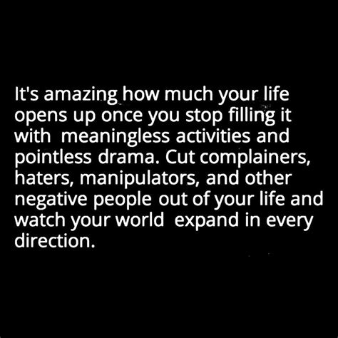 It's Amazing How Much Your Life Opens Up Once You Stop