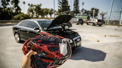 jump start car how to jump start your car with jumper cables and another operable vehicle roadshow