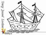Pirate Coloring Ship Boys Boats Sail Yescoloring Pirates Sea Seas sketch template