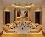 Entryway Marble Floor Tile Designs