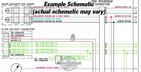 cummins qsx15 cm570 engine wiring diagram pdf schematics