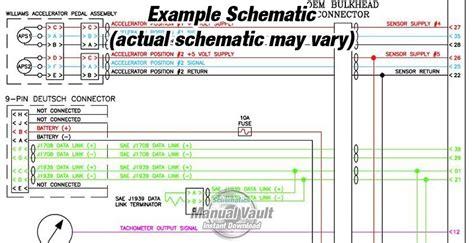 cummins qsx15 cm570 engine wiring diagram pdf schematics vault