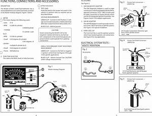 Actron Cp7605 Operating Instructions 0002 000 219301c