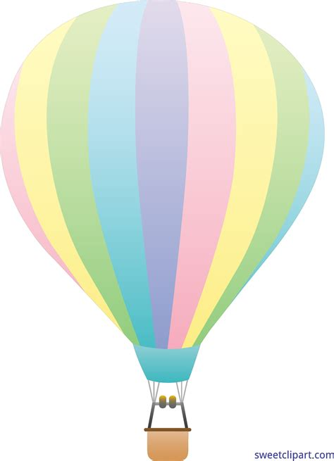 library  aesthetic hot air balloon black  white  png files clipart art