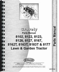 Gravely 8122 Lawn  U0026 Garden Tractor Parts Manual