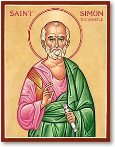 Men Saint Icons: St Simon the Zealot Icon Monastery Icons