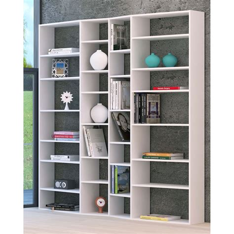 meuble de cuisine fait maison temahome etagère bibliothèque valsa 214 cm blanc etagère bibliothèque temahome sur maginea