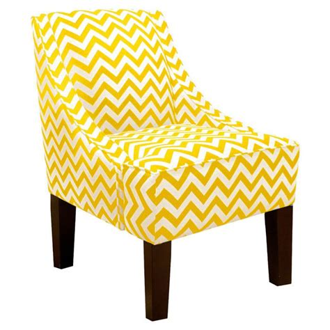 Yellow Swoop Arm Accent Chair by Estelle Accent Chair In Yellow For The Home
