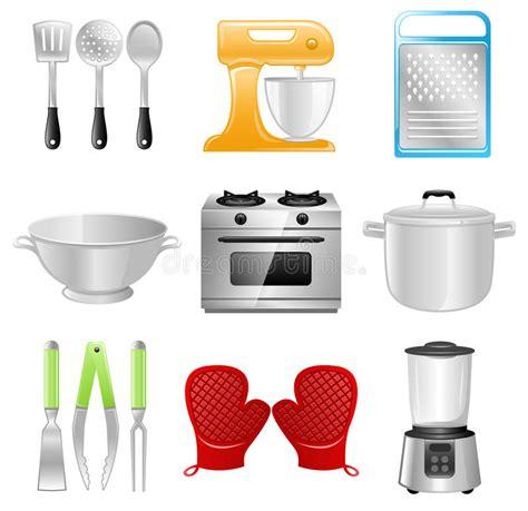 Kitchen Utensils, Cooking, Restaurant Stock Vector
