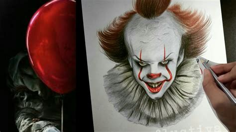 Pennywise The Dancing Clown 🎈 Drawing It 2017