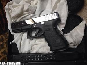 ARMSLIST - For Sale: Glock 23 custom chrome!