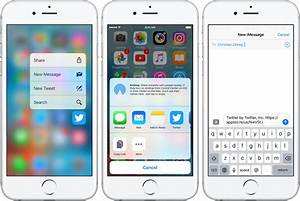 iOS 10: app sharing made simple with handy new 3D Touch ...