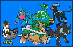 My Pokemon Platinum Team By Themartinez2001 On Deviantart