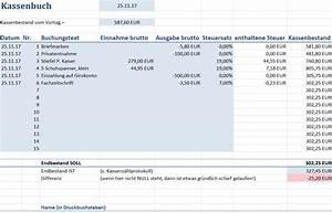 Einnahmen überschuss Rechnung Beispiel : das ordnungsgem e kassenbuch so geht 39 s ~ Themetempest.com Abrechnung